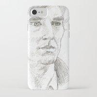 sherlock iPhone & iPod Cases featuring Sherlock by Amanda Powzukiewicz