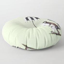 Ring Tailed Lemur Floor Pillow