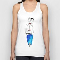 roman Tank Tops featuring Roman Holiday by Isabel Sobregrau