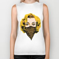 gangster Biker Tanks featuring Gangster Lady by UrbanCandy