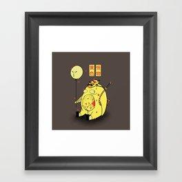 My Yellow Monster Framed Art Print