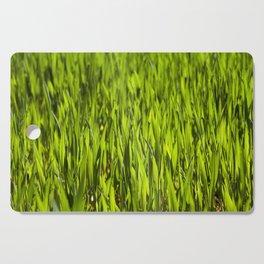 Wheat close up Cutting Board