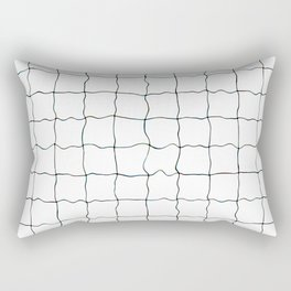 Swimming Pool Grid - Underwater Grid Rectangular Pillow