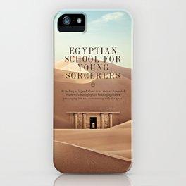Wizarding Schools Around the World: Egypt iPhone Case