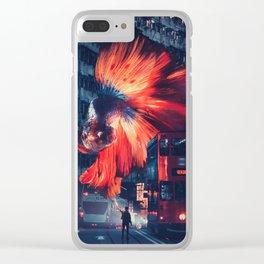 Fin Clear iPhone Case