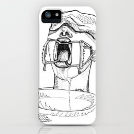 Gagged iPhone Case