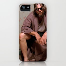 The Dude iPhone Case