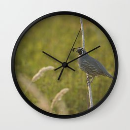 Curly Top Wall Clock