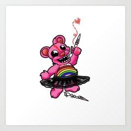 Rip & Tare bear Art Print