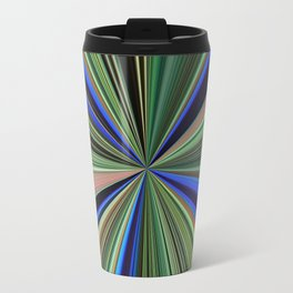 Peacock starburst Travel Mug