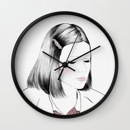 Gwyneth Paltrow (as Margot Tenenbaum) - Melancholia Serie Wall Clock