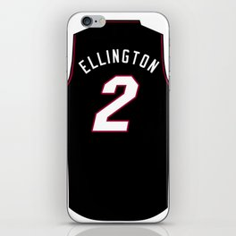 Wayne Ellington Jersey iPhone Skin