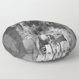 Astronaut - 2020 Nasa Spacestation - Outer Space Galaxy Floor Pillow
