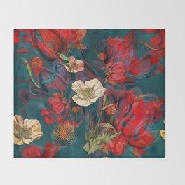 Flowers pattern Throw Blanket