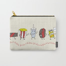 Let's All Go to the Lobby! Carry-All Pouch