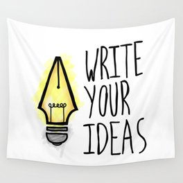 Write Your Ideas Wall Tapestry