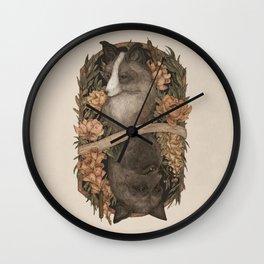 Friend Fox, Foe Fox Wall Clock