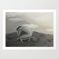 poetry Art Prints featuring Poetry by wgbug
