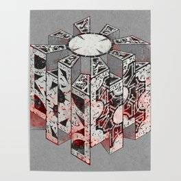 Hellraiser Puzzlebox D Poster