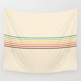 Yoshikage - Classic Fine Line Retro Stripes Wall Tapestry