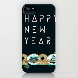 happy new year 2020 iPhone Case