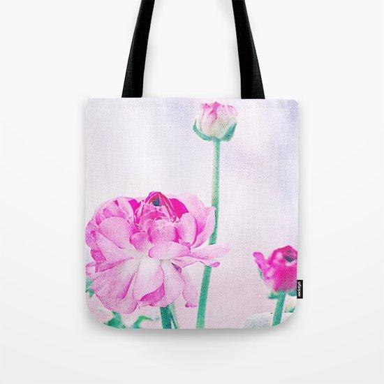 Vintage Ranunculus (7) Tote Bag