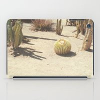 cacti iPad Cases featuring Cacti by Amber Barkley
