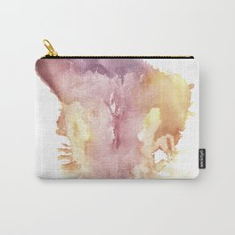 Verronica Kirei's Vulva Monotype Print Carry-All Pouch