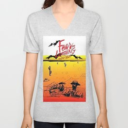 Fear and Loathing in Las Vegas- Desert Unisex V-Neck