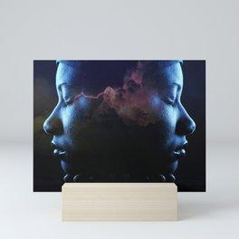 twins storm Mini Art Print