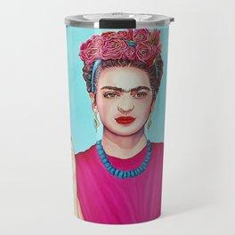 I am Woman Travel Mug