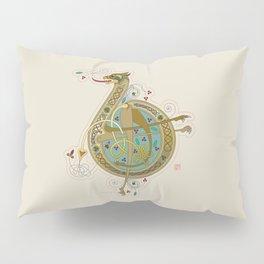 Celtic Initial B Pillow Sham