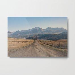 Colorado Gold I Metal Print