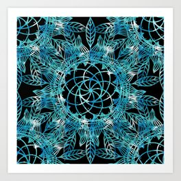 Cosmic Dreamcatchers Art Print