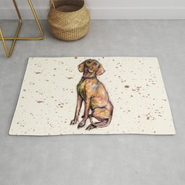 Hungarian Vizsla Dog Rug