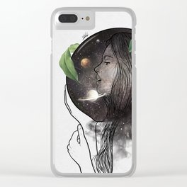 Inspiration soul. Clear iPhone Case