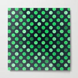 Watercolor Dots Pattern XI Metal Print