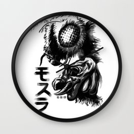 Waterbrushed Flying Insect Wall Clock