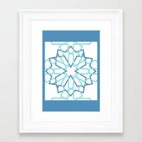 arabic Framed Art Prints featuring Arabic Pattern by Soso Creation