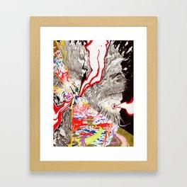 Eye see that Eye can Create (Untitled Face I) Framed Art Print