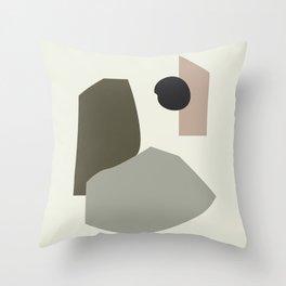 Shape study #35 - Lola Collection 2019 Throw Pillow