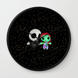 Halloween Babies | Jack | Sally | Christmas | Nightmare Wall Clock