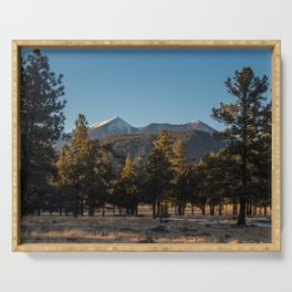San Francisco Peaks Serving Tray
