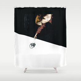 Grow Old, Die Alone Shower Curtain
