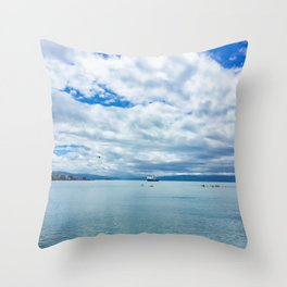 Harbour Calmness Throw Pillow