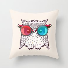 Owl - Owl Throw Pillow