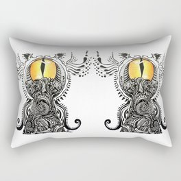 Saffron Stare Rectangular Pillow