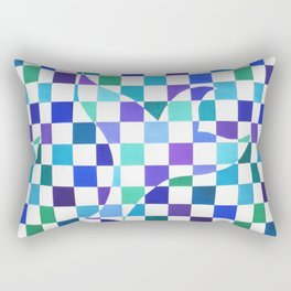 Freedom - cold colors Rectangular Pillow