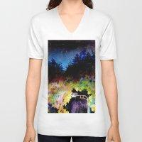 twilight V-neck T-shirts featuring Twilight by Ivanushka Tzepesh