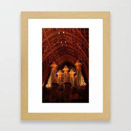 Pipe Organ Framed Art Print